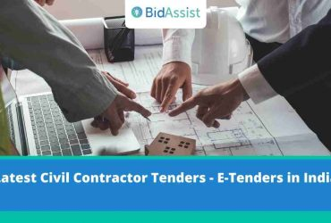 latest civil contractors tenders, e-tendering