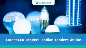 Latest LED Tenders - Indian Tender Online,
