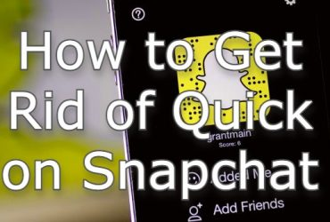 get rid of quick add on snapchat